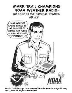 Weather Radio Cartoon